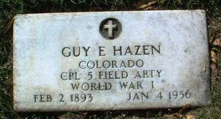 HAZEN, GUY ELWOOD - Yavapai County, Arizona | GUY ELWOOD HAZEN - Arizona Gravestone Photos