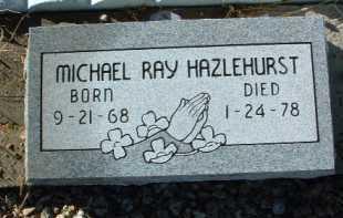 HAZLEHURST, MICHAEL RAY - Yavapai County, Arizona | MICHAEL RAY HAZLEHURST - Arizona Gravestone Photos