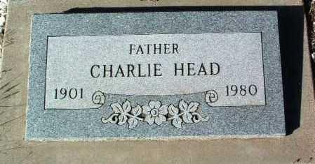 HEAD, CHARLIE - Yavapai County, Arizona | CHARLIE HEAD - Arizona Gravestone Photos