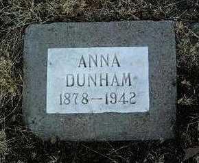 HEAD DUNHAM, ANNA - Yavapai County, Arizona | ANNA HEAD DUNHAM - Arizona Gravestone Photos