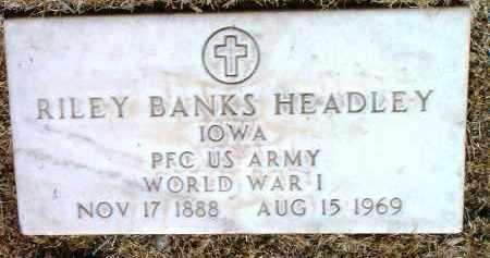 HEADLEY, RILEY BANKS - Yavapai County, Arizona | RILEY BANKS HEADLEY - Arizona Gravestone Photos