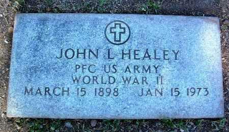 HEALEY, JOHN L. - Yavapai County, Arizona | JOHN L. HEALEY - Arizona Gravestone Photos