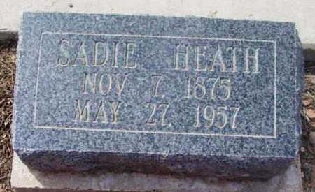 HEATH, SARAH PERMELIA (SADIE) - Yavapai County, Arizona | SARAH PERMELIA (SADIE) HEATH - Arizona Gravestone Photos