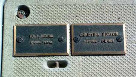 HEATON, CHRISTINA - Yavapai County, Arizona | CHRISTINA HEATON - Arizona Gravestone Photos