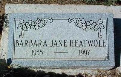 HEATWOLF, BARBARA JANE - Yavapai County, Arizona   BARBARA JANE HEATWOLF - Arizona Gravestone Photos