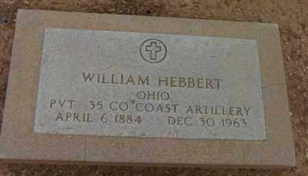 HEBBERT, WILLIAM - Yavapai County, Arizona | WILLIAM HEBBERT - Arizona Gravestone Photos