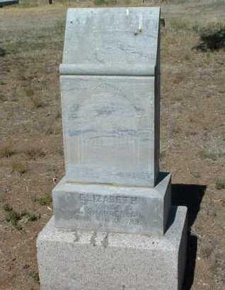 HECKERT SHANBERGER, E - Yavapai County, Arizona   E HECKERT SHANBERGER - Arizona Gravestone Photos