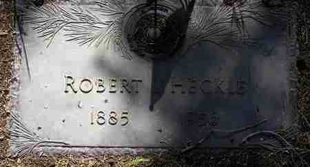 HECKLE, ROBERT LESLIE - Yavapai County, Arizona   ROBERT LESLIE HECKLE - Arizona Gravestone Photos