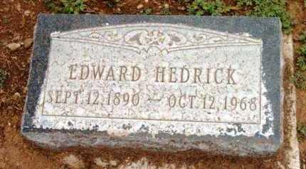 HEDRICK, EDWARD - Yavapai County, Arizona   EDWARD HEDRICK - Arizona Gravestone Photos