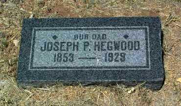 HEGWOOD, JOSEPH PALMER - Yavapai County, Arizona | JOSEPH PALMER HEGWOOD - Arizona Gravestone Photos