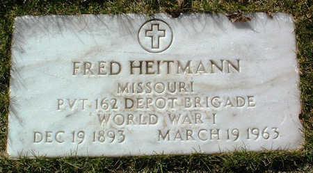 HEITMANN, FRED - Yavapai County, Arizona   FRED HEITMANN - Arizona Gravestone Photos