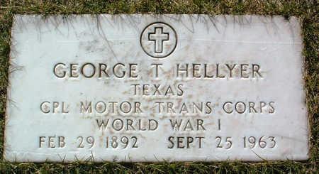 HELLYER, GEORGE THOMAS - Yavapai County, Arizona | GEORGE THOMAS HELLYER - Arizona Gravestone Photos