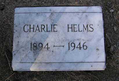 HELMS, CHARLES E. (CHARLIE) - Yavapai County, Arizona | CHARLES E. (CHARLIE) HELMS - Arizona Gravestone Photos