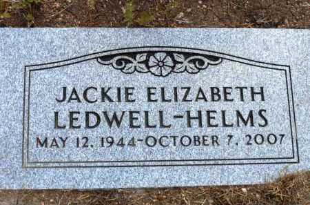 HELMS, JACKIE ELIZABETH - Yavapai County, Arizona | JACKIE ELIZABETH HELMS - Arizona Gravestone Photos