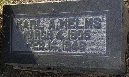 HELMS, KARL A. - Yavapai County, Arizona   KARL A. HELMS - Arizona Gravestone Photos