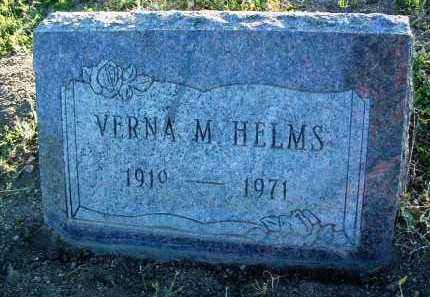 AHRENS HELMS, VERNA M. - Yavapai County, Arizona | VERNA M. AHRENS HELMS - Arizona Gravestone Photos