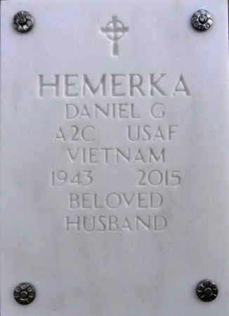 HEMERKA, DANIEL GEORGE - Yavapai County, Arizona | DANIEL GEORGE HEMERKA - Arizona Gravestone Photos