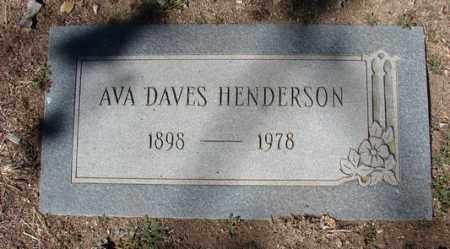 HENDERSON, AVA WINNETTA - Yavapai County, Arizona | AVA WINNETTA HENDERSON - Arizona Gravestone Photos