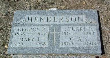 HENDERSON, MARY EMMA - Yavapai County, Arizona | MARY EMMA HENDERSON - Arizona Gravestone Photos