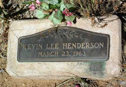 HENDERSON, KEVIN LEE - Yavapai County, Arizona | KEVIN LEE HENDERSON - Arizona Gravestone Photos