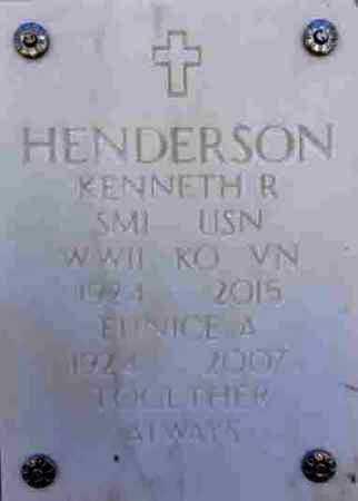 HENDERSON, KENNETH ROSS - Yavapai County, Arizona | KENNETH ROSS HENDERSON - Arizona Gravestone Photos