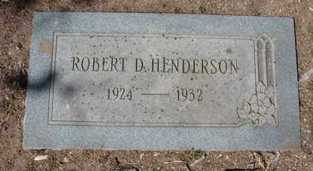 HENDERSON, ROBERT DELMAR - Yavapai County, Arizona | ROBERT DELMAR HENDERSON - Arizona Gravestone Photos