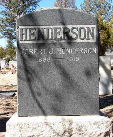 HENDERSON, ROBERT J. - Yavapai County, Arizona | ROBERT J. HENDERSON - Arizona Gravestone Photos