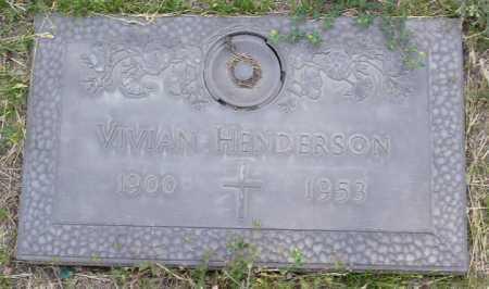 HENDERSON, VIVIAN - Yavapai County, Arizona | VIVIAN HENDERSON - Arizona Gravestone Photos