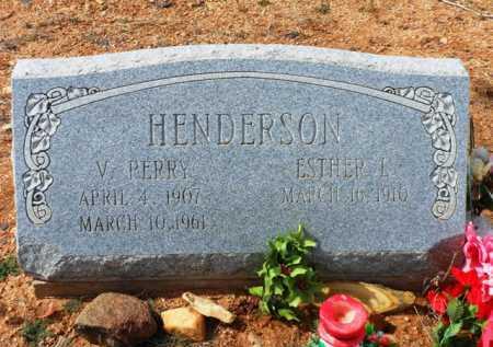HENDERSON, VERNON PERRY - Yavapai County, Arizona   VERNON PERRY HENDERSON - Arizona Gravestone Photos
