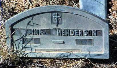 HENDERSON, INFANT - Yavapai County, Arizona | INFANT HENDERSON - Arizona Gravestone Photos