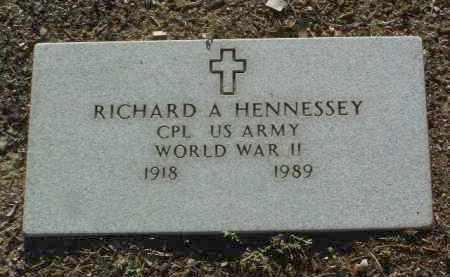 HENNESSEY, RICHARD ANDREW - Yavapai County, Arizona   RICHARD ANDREW HENNESSEY - Arizona Gravestone Photos