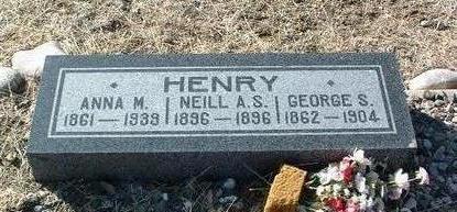 HENRY, GEORGE SAMUEL - Yavapai County, Arizona | GEORGE SAMUEL HENRY - Arizona Gravestone Photos