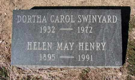 HENRY, HELEN MAY - Yavapai County, Arizona | HELEN MAY HENRY - Arizona Gravestone Photos