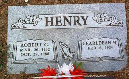 HENRY, ROBERT CHARLES - Yavapai County, Arizona   ROBERT CHARLES HENRY - Arizona Gravestone Photos