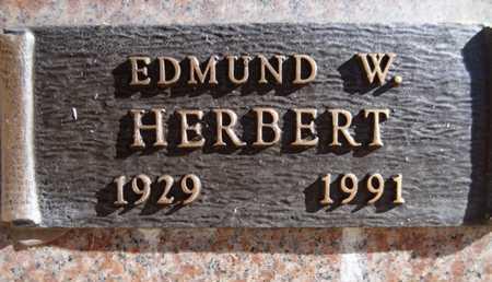 HERBERT, EDMUND WILLIAM - Yavapai County, Arizona   EDMUND WILLIAM HERBERT - Arizona Gravestone Photos