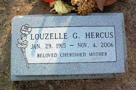 HERCUS, LOUZELLE G. (LOU) - Yavapai County, Arizona | LOUZELLE G. (LOU) HERCUS - Arizona Gravestone Photos