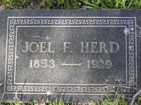 HERD, JOEL F. - Yavapai County, Arizona | JOEL F. HERD - Arizona Gravestone Photos