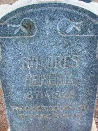 HEREDIA, DOLORES - Yavapai County, Arizona   DOLORES HEREDIA - Arizona Gravestone Photos