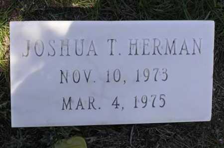 HERMAN, JOSHUA T. - Yavapai County, Arizona | JOSHUA T. HERMAN - Arizona Gravestone Photos