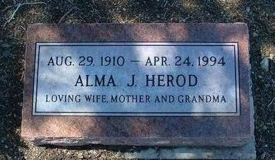 KETRON HEROD, ALMA J. - Yavapai County, Arizona | ALMA J. KETRON HEROD - Arizona Gravestone Photos