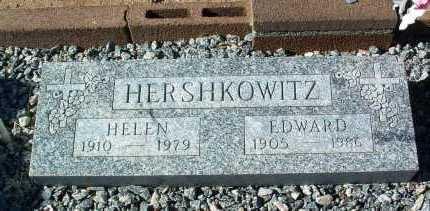 HERSHKOWITZ, EDWARD - Yavapai County, Arizona | EDWARD HERSHKOWITZ - Arizona Gravestone Photos