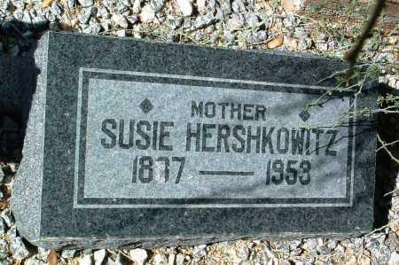 HERSHKOWITZ, SUSIE - Yavapai County, Arizona   SUSIE HERSHKOWITZ - Arizona Gravestone Photos