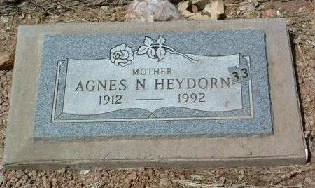 HEYDORN, AGNES NELLIE - Yavapai County, Arizona | AGNES NELLIE HEYDORN - Arizona Gravestone Photos