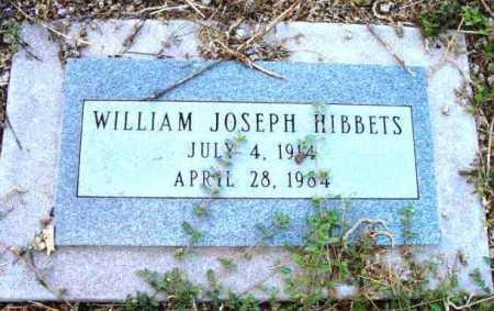 HIBBETS, WILLIAM JOSEPH - Yavapai County, Arizona   WILLIAM JOSEPH HIBBETS - Arizona Gravestone Photos
