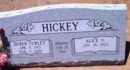 PARSONS HICKEY, ALICE V. - Yavapai County, Arizona | ALICE V. PARSONS HICKEY - Arizona Gravestone Photos