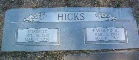 HICKS, RAYMOND HAMER - Yavapai County, Arizona   RAYMOND HAMER HICKS - Arizona Gravestone Photos