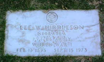 HIDDLESON, LEE W. - Yavapai County, Arizona | LEE W. HIDDLESON - Arizona Gravestone Photos