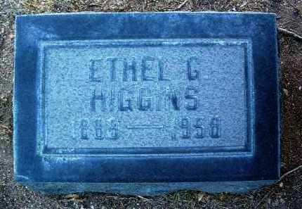 HIGGINS, ETHEL GLENNA - Yavapai County, Arizona | ETHEL GLENNA HIGGINS - Arizona Gravestone Photos