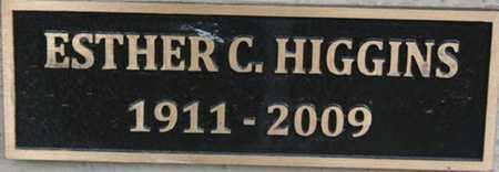 HIGGINS, ESTHER ELIZABETH - Yavapai County, Arizona | ESTHER ELIZABETH HIGGINS - Arizona Gravestone Photos