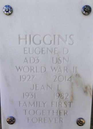 HIGGINS, EUGENE DONALD - Yavapai County, Arizona | EUGENE DONALD HIGGINS - Arizona Gravestone Photos